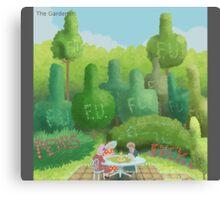 QYDJ - Gardener Canvas Print