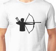 Archery player Unisex T-Shirt