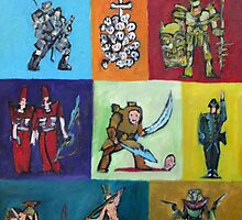 CARTOON SOLDIERS.2 by lautir