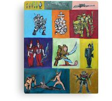 CARTOON SOLDIERS.2 Canvas Print