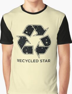 Recycled Star - Inverted Graphic T-Shirt