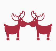 Red Reindeers by Designzz