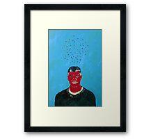 CLOUD of FLIES OVER RED GEORGE Framed Print
