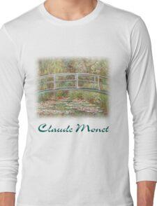 Monet - Lily Pads Long Sleeve T-Shirt
