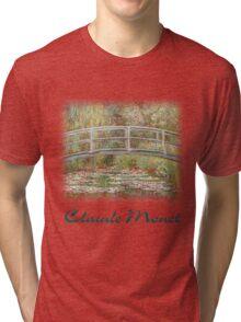 Monet - Lily Pads Tri-blend T-Shirt