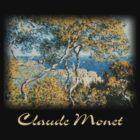 Monet - Bordighera by William Martin