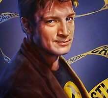 Nathan Fillion by Brooke Milton