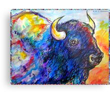 Buffalo, Dying Breed Metal Print