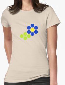 Polka Dot Flower (Blue) T-Shirt