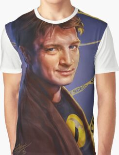 Nathan Fillion Graphic T-Shirt