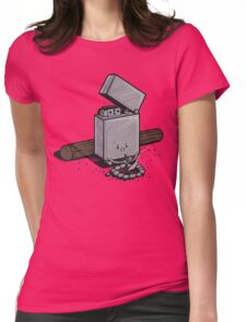 Out of fuel Womens Fitted T-Shirt