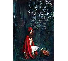 In the Deep Dark Woods Photographic Print