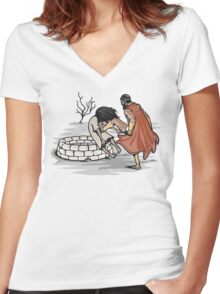 This is my movie! Women's Fitted V-Neck T-Shirt