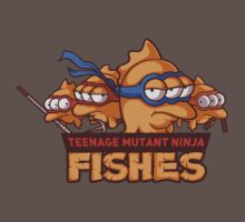 Teenage mutant ninja fishes One Piece - Short Sleeve