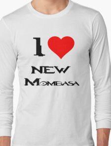 Halo-I heart new Mombasa Long Sleeve T-Shirt