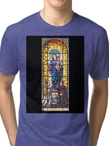 Mary Help of Christians Tri-blend T-Shirt