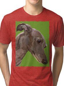 Italian Greyhound Tri-blend T-Shirt
