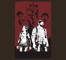 The Last of Us - Joel and Ellie by Kodi  Sershon