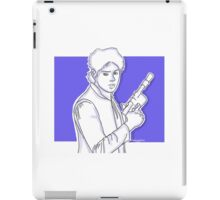 Michael Clifford as Han Solo iPad Case/Skin
