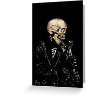 ROCK n SKULL  Greeting Card