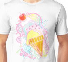 Ice_Cream_Paint Unisex T-Shirt