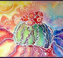 Rainbow Cactus by M C  Sturman