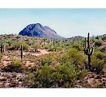 Desert Hills Photographic Print
