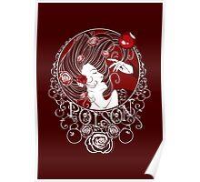 Poison - Blood Rose Full Illustration Poster