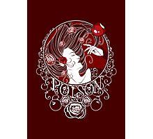 Poison - Blood Rose Full Illustration Photographic Print