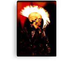 PUNK SKULL ROCKER Canvas Print