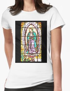 Our Lady of Guadalupe Womens Fitted T-Shirt