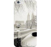 snowy london iPhone Case/Skin