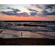 Great Lakes Sunset Photographic Print