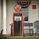 Phillips 66 Vintage Gas Pump by Randall Nyhof