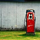 Vintage Gas Pump by Randall Nyhof