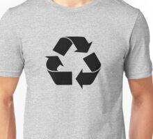 RECYCLE black Unisex T-Shirt
