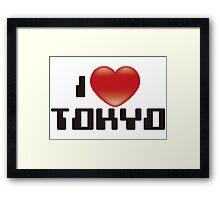 I_Love_Tokyo Framed Print