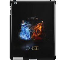Fire VS Ice - Regina and Elsa iPad Case/Skin