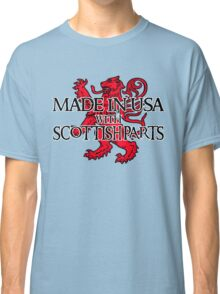 Made in USA with Scottish parts Classic T-Shirt