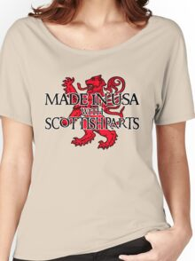Made in USA with Scottish parts Women's Relaxed Fit T-Shirt