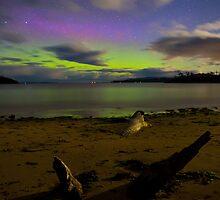 Randalls Bay Aurora Tasmania #10 by Chris Cobern