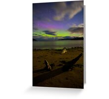 Randalls Bay Aurora Tasmania #10 Greeting Card