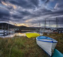 Early Morning, Franklin, Tasmania #5 by Chris Cobern