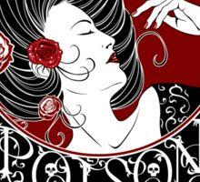 Poison - Black Rose Full Illustration Sticker