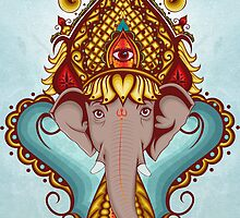 Lord Ganesha by Abati