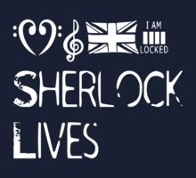 Sherlock lives One Piece - Long Sleeve