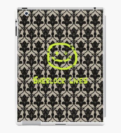 SHERLOCK LIVES!! iPad Case/Skin