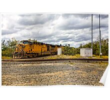 Union Pacific Engine 7034 Poster