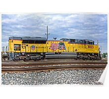 Union Pacific Engine 8823 Poster