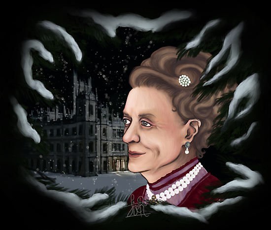 The Dowager Countess of Grantham by LiseRichardson